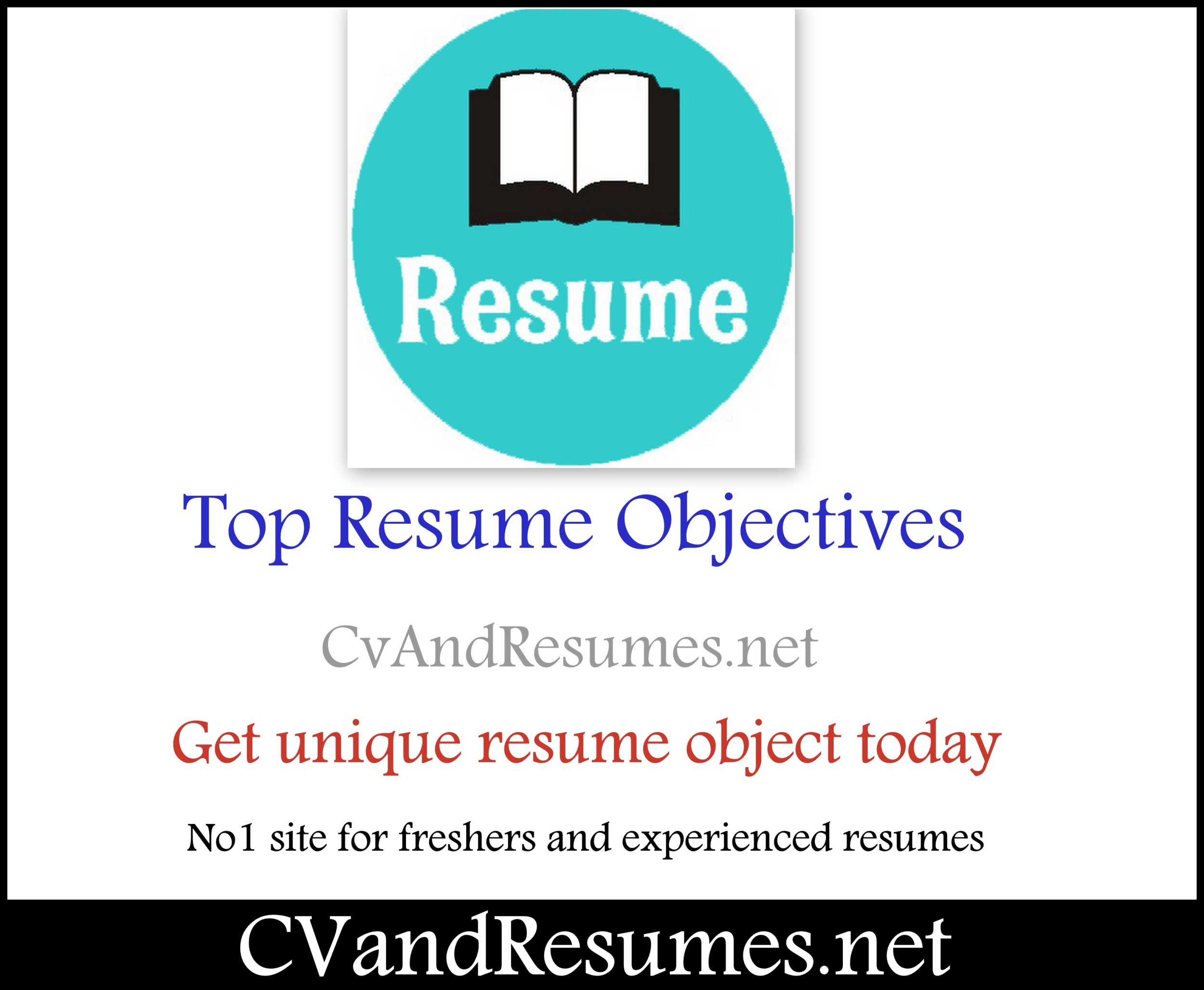 Top 100 sample resume objectives - Career objective example ...